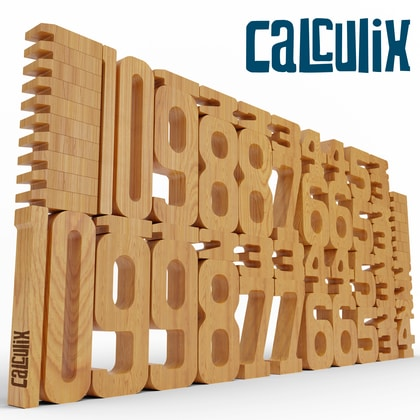 Calculix Massiv Basis Set (Dyskalkulie)